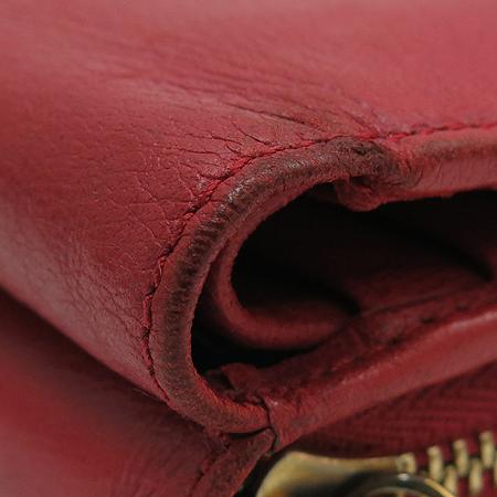 Loewe(로에베) 레드 레더 로고 플레이트 중지갑 [강남본점] 이미지7 - 고이비토 중고명품