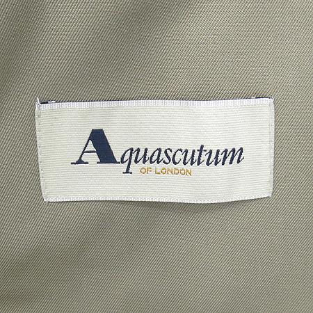 AQUASCUTUM(아쿠아스큐텀) 트렌치 코트 (내피/벨트 set) 이미지4 - 고이비토 중고명품