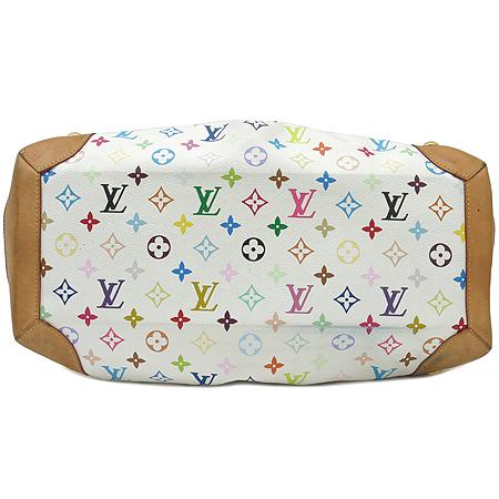 Louis Vuitton(루이비통) M40123 모노그램 멀티컬러 화이트 우슐라 숄더백