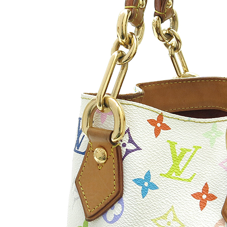Louis Vuitton(루이비통) M40047 모노그램 멀티 컬러 화이트 오드라 토트백