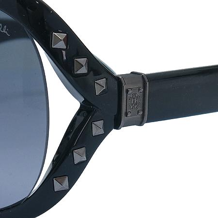 CAVALLI(카발리) 598S 측면 스터드 금장 로고 오버라지 뿔테 선글라스 [인천점] 이미지5 - 고이비토 중고명품
