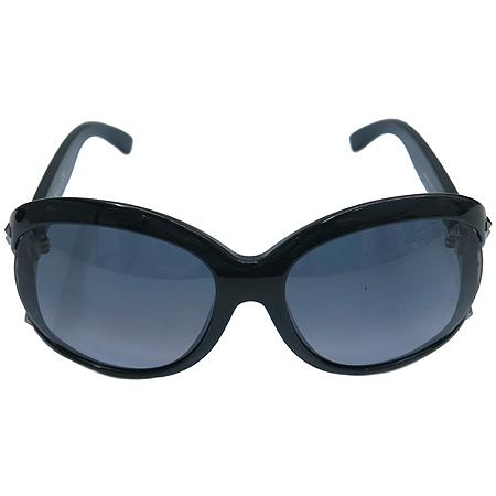 CAVALLI(까발리) 598S 측면 스터드 금장 로고 오버라지 뿔테 선글라스