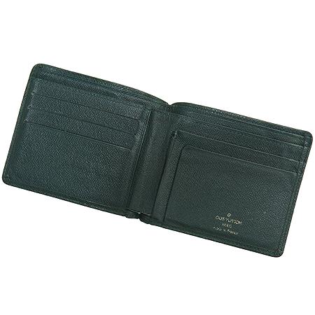 Louis Vuitton(루이비통) M30488 타이가 레더 6 크레딧 카드 슬롯 반지갑 이미지4 - 고이비토 중고명품