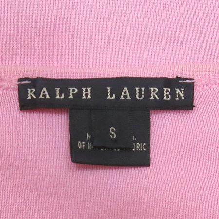 Polo Ralphlauren(폴로) 핑크 컬러 라운드 반팔 티