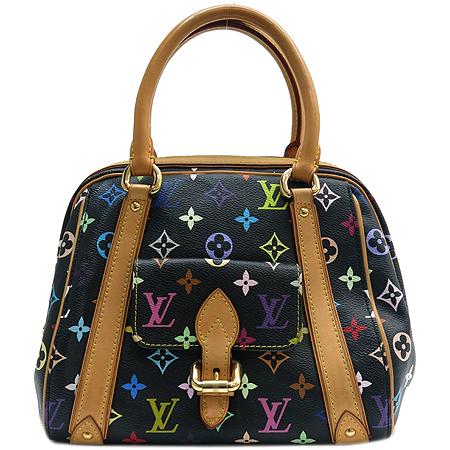 Louis Vuitton(루이비통) M40097 모노그램 멀티 블랙 프리실라 토트백