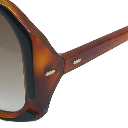 DSQUARED2(디스퀘어드2) DQ0052 05F 스퀘어 뿔테 선글라스 이미지3 - 고이비토 중고명품