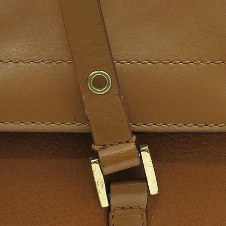 Dior(크리스챤디올) DEE44832M 브라운 레더 금장 로고 토트백 이미지4 - 고이비토 중고명품