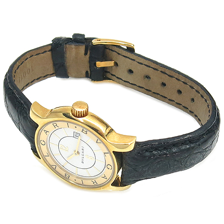 Bvlgari(불가리) 18K 금통 ST29G 솔로템포 가죽밴드 여성용 시계 [강남본점]
