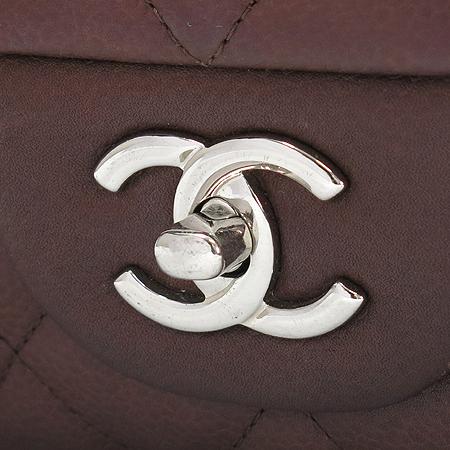 Chanel(샤넬) A28600 캐비어 스킨 클래식 점보 사이즈 은장 체인 숄더백