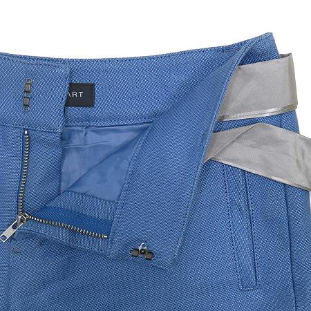 Jill Stuart(질스튜어트) 블루 컬러 반바지 (허리끈SET)