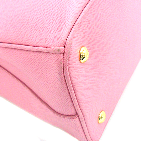 Prada(프라다) Prada(프라다) BN1874 핑크 사피아노 럭스 + 숄더 스트랩
