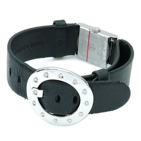 Baume&Mercier (보메메르시에) VICE-VERSA 자개판 블랙 밴드 12포인트 다이아 여성용 시계
