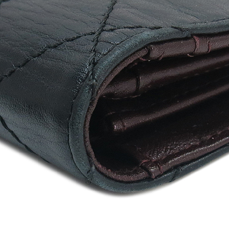 Chanel(샤넬) 2.55 브랙 램스킨 마트라쎄 장지갑 [명동매장]