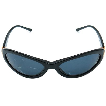 Chanel(샤넬) 5027 COCO 금장 로고 블랙 뿔테 선글라스 이미지2 - 고이비토 중고명품