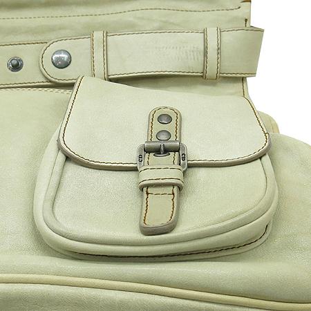 Dior(크리스챤디올) WAC44921 W1 아이보리레더 가우쵸 원 포켓 숄더백