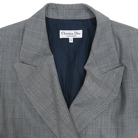 Dior(크리스챤디올) 그레이컬러 더블버튼 자켓