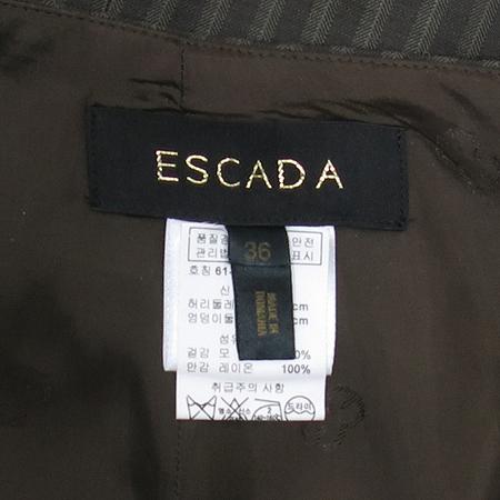 Escada(에스까다) 브라운컬러 스트라이프 스커트 이미지4 - 고이비토 중고명품