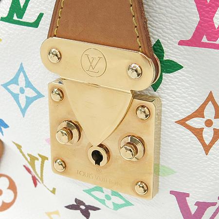 Louis Vuitton(루이비통) M92643 모노그램 멀티 컬러 화이트 스피디30 토트백