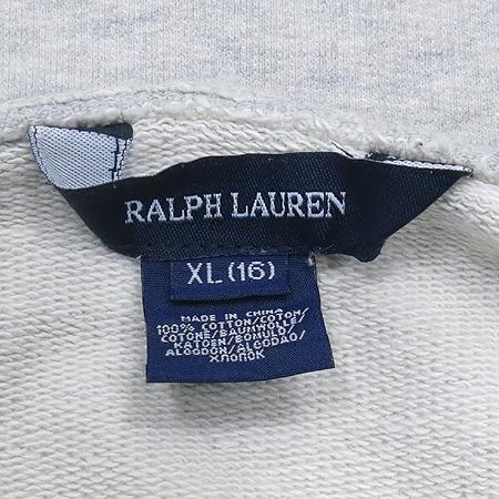Polo Ralphlauren(폴로) 아동용 그레이컬러 후드 롱 티