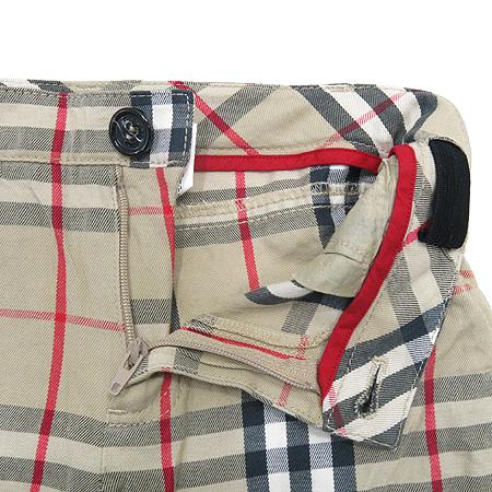 Burberry(버버리) 아동용 체크무늬 바지 이미지2 - 고이비토 중고명품