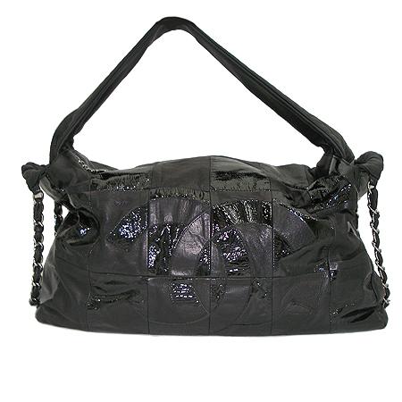 Chanel(샤넬) 블랙 컬러 패치워크 브루클린 숄더백