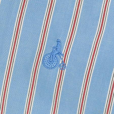 Bean Pole(빈폴) 스트라이프 패턴 반팔 남방