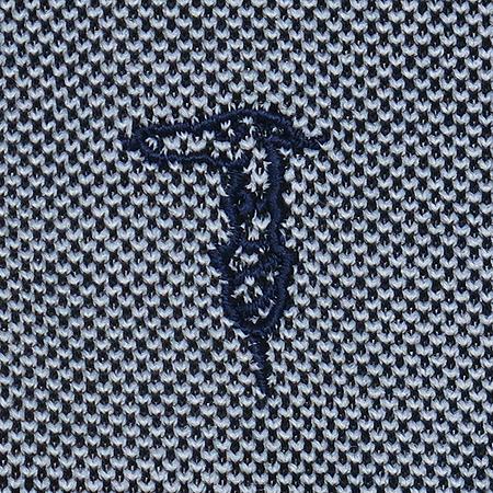 Trussardi(트루사디) 그레이 컬러 민소매 카라티 이미지3 - 고이비토 중고명품