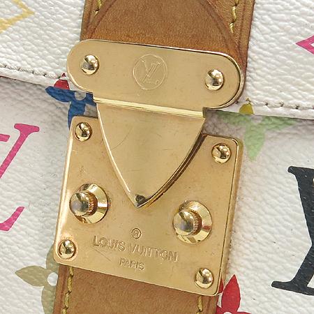 Louis Vuitton(루이비통) M92643 모노그램 멀티컬러 화이트 멀티스피디 30 토트백 [강남본점] 이미지4 - 고이비토 중고명품