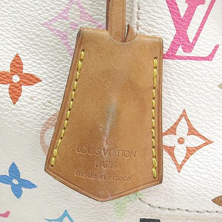 Louis Vuitton(루이비통) M92643 모노그램 멀티컬러 화이트 멀티스피디 30 토트백 [강남본점] 이미지5 - 고이비토 중고명품