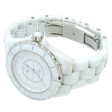 Chanel(����) H3443 J12 ȭ��Ʈ ����� 38MM �����ƽ ������� �ð�
