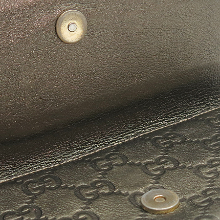 Gucci(구찌) 181544 GG로고 골드 브론즈 클러치 겸 장지갑
