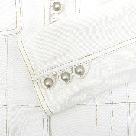 Ninesix(나인식스) 화이트 컬러 자켓