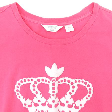 Adidas(아디다스) 핑크 컬러 반팔 티