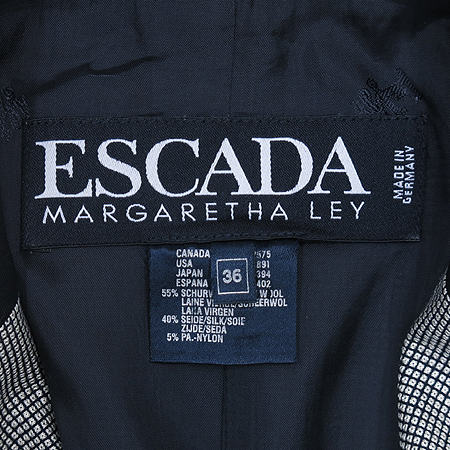 Escada(에스까다) 실크혼방 3버튼 자켓