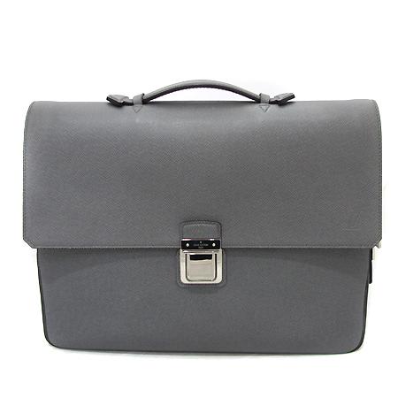 Louis Vuitton(루이비통) M32641 타이가 레더 바실리 PM 글래시어 컬러 토트백 + 크로스 스트랩