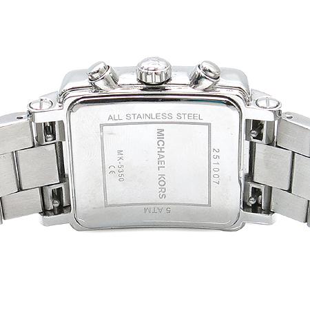 MICHAELKORS(마이클코어스) MK2214 베젤 장식 크로노그래프 스틸 여성용 시계