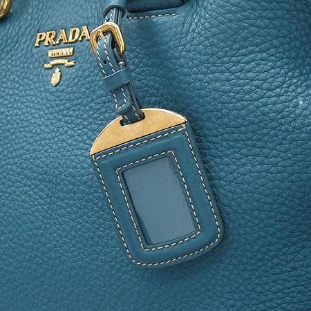 Prada(프라다) BN1713 VIT.DAINO 소프트카프스킨 MARINE 레더 금장로고 토트백 + 숄더스트랩 [명동매장]