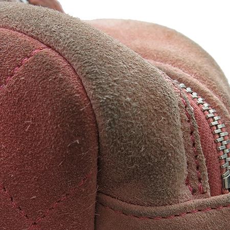 Chanel(샤넬) COCO 은장 로고 화이트 레더 퀄팅 스웨이드 토트 겸 은장 체인 숄더백
