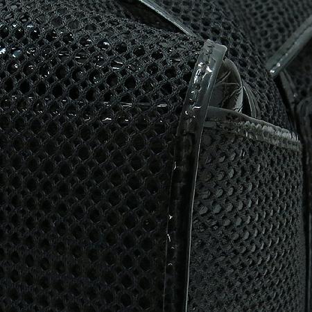 Fendi(펜디) 8BR568 블랙 에나멜 패브릭 혼방 숄더백