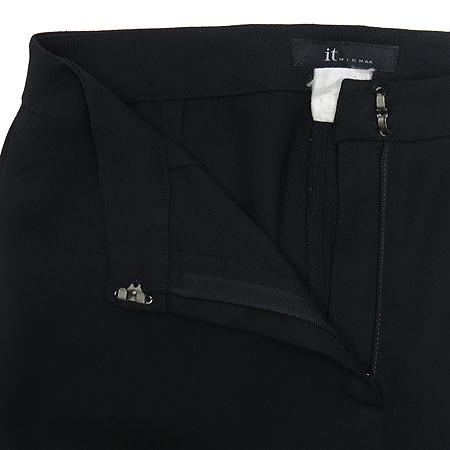 MICHAA(미샤) 블랙 컬러 바지