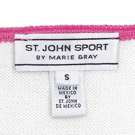 ST.John(센존) 화이트 / 핑크 컬러 나시