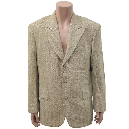 Polo Ralphlauren(폴로) 실크 혼방 브라운 컬러 자켓