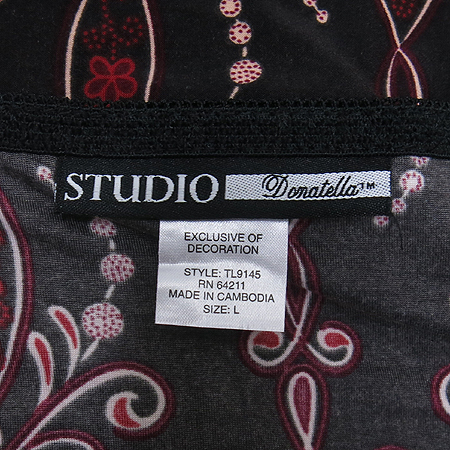 Studio donatella(스튜디오 도나텔라) 끈 나시