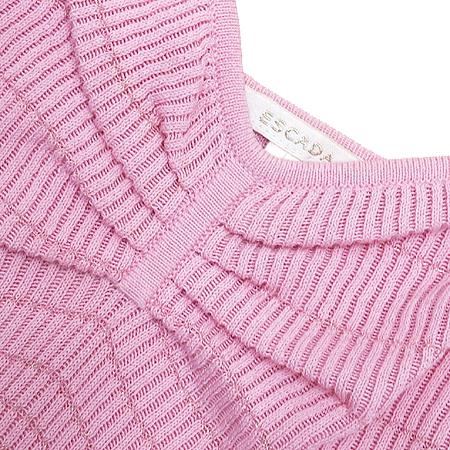 Escada(에스까다) 핑크컬러 투명 끈 나시