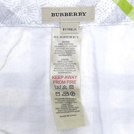 Burberry(버버리) 아동용 체크패턴 스커트 [부산센텀본점] 이미지4 - 고이비토 중고명품