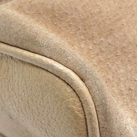 Gucci(구찌) 003 1998 원 포켓 뱀부 장식 스웨이드 백팩