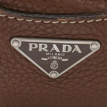 Prada(프라다) 크로크다일 장식 브라운 레더 숄더백 [대구반월당본점] 이미지5 - 고이비토 중고명품