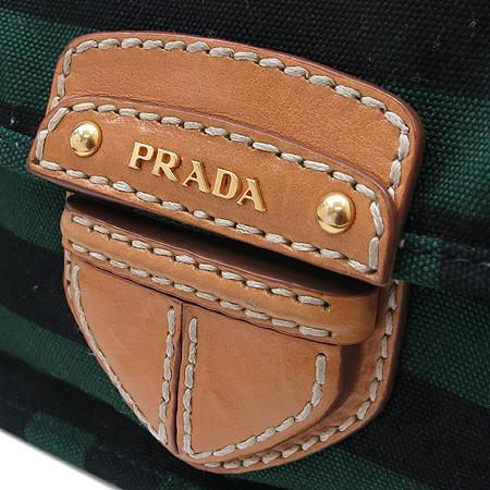 Prada(프라다) BT0785 금장 로고 패브릭 크로스백