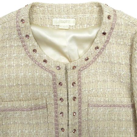 JIGOTT(지고트) 아이보리 컬러 자켓