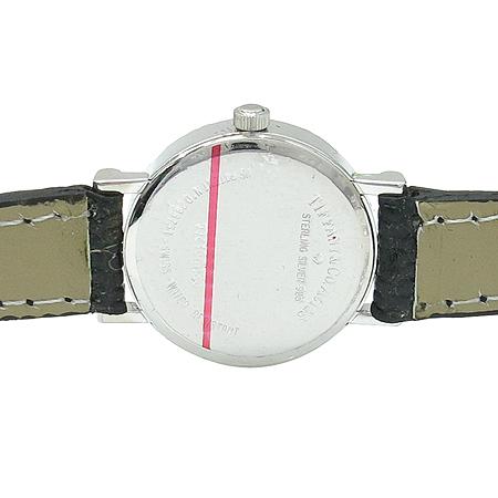 Tiffany(티파니) 아틀라스 925(실버) 여성용 가죽밴드 시계